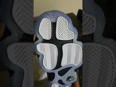 Turista Pogo stick jump Espesar  AIR Jordans 6 rings - CONCORDS .. ALL black and icy SOLES - YouTube