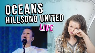 Cover images Vocal Coach Reacts to Oceans by Hillsong United