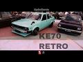 Toyota Corolla Ke70 Shakotan Praise the Retro - Borneo Kustom Show 2017