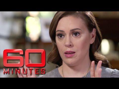 Alyssa Milano says MeToo needs more men involved  60 Minutes Australia