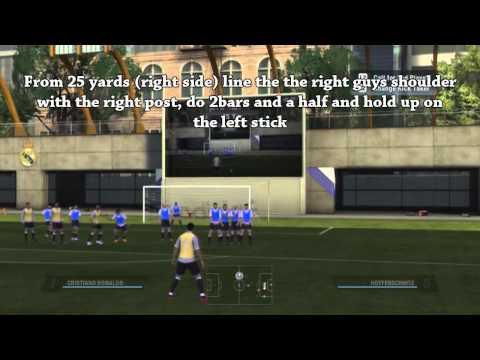 Fifa 11 Free Kick Tutorial