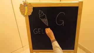 G: Impara l'alfabeto giocando - Alfabeto italiano per Bambini