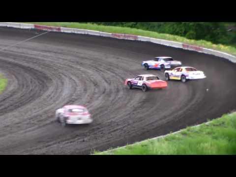 Stock Car Heat 2 @ Hamilton County Speedway 06/03/17