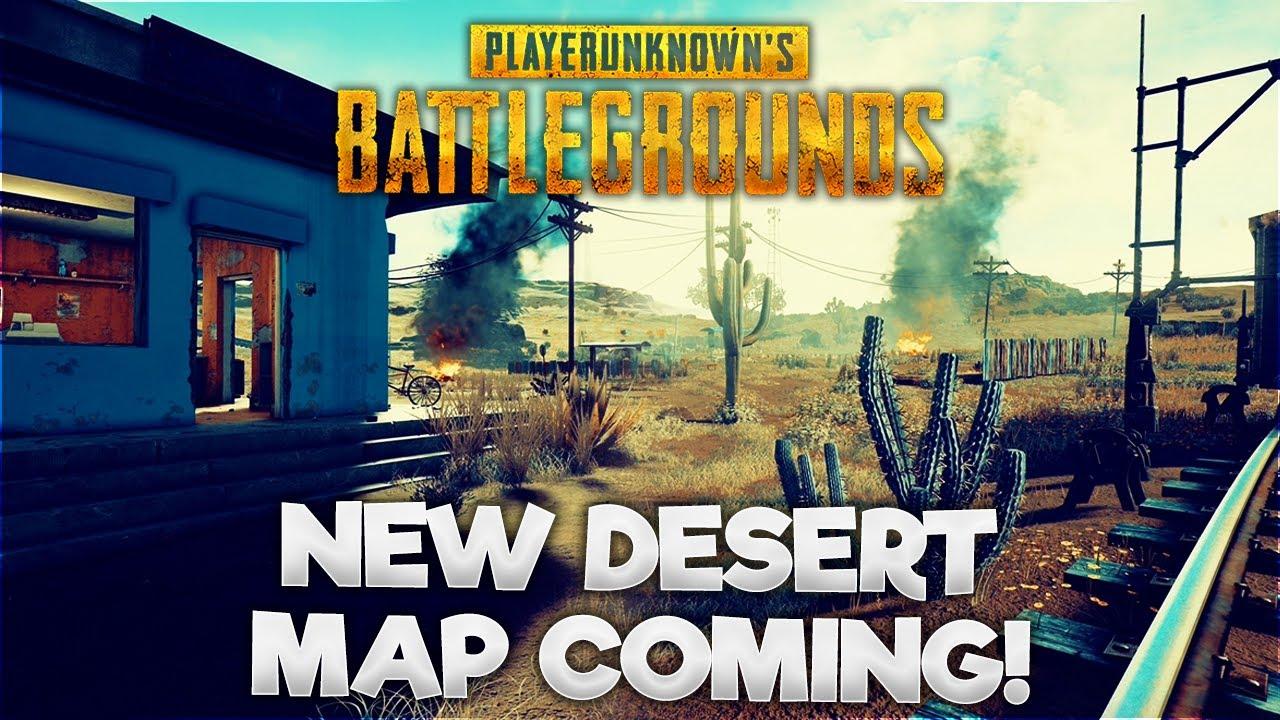 Playerunknown S Battlegrounds Desert Map: Smaller Desert Map Coming Soon!