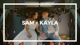 Sam + Kayla | The Pavilion at Black Water Junction | Union Hall, Virginia