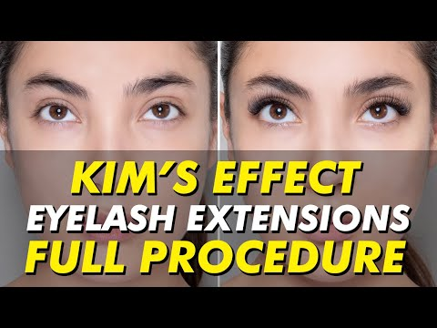 2abf7b06800 Kim's Effect lash extensions | Kim K-inspired eyelash extensions | Eye  Design New York - YouTube