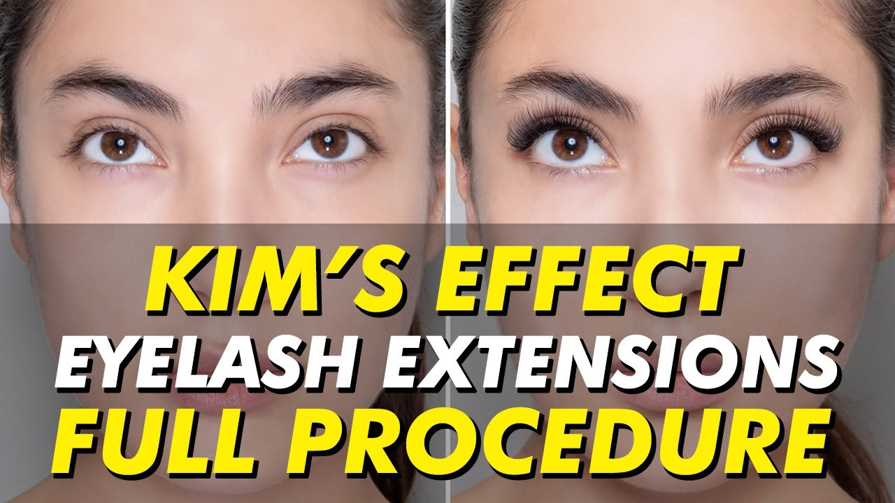 5dc92aa7781 Kim's Effect lash extensions | Kim K-inspired eyelash extensions | Eye  Design New York