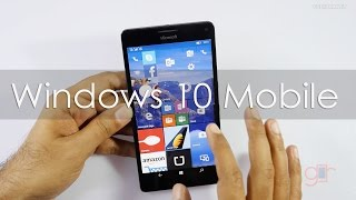 Top New Features of Windows 10 Mobile using Lumia 950XL