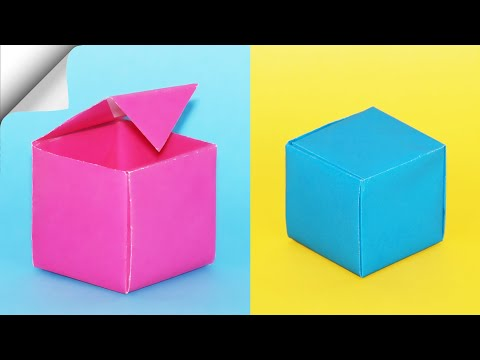 how-to-make-a-paper-box-|-diy-paper-box-|-diy-easy-paper-crafts