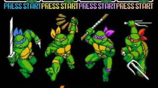 TMNT 4 Turtles in time music - Alleycat Blues