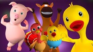 Dez Na Cama | Rimas de berçário Colecção | 3D miúdos Vídeo | Canção Para Crianças | Ten In The Bed thumbnail