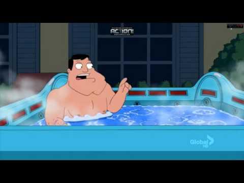 American dad hot tub