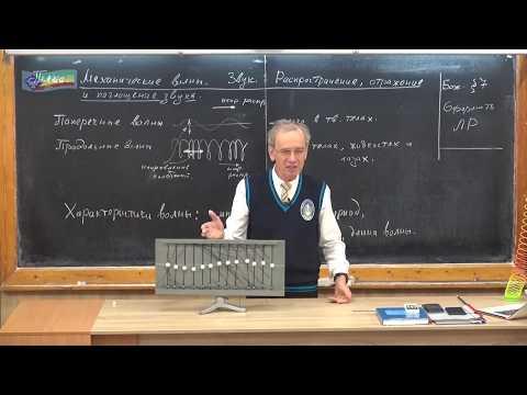 8 кл - 9. Механические волны. Звук
