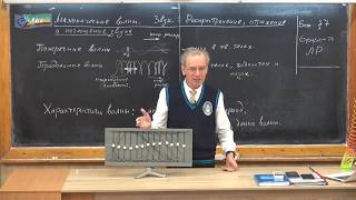 Урок 131 (осн). Механические волны. Звук