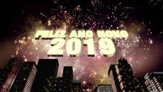 Happy New Year 2019 WhatsApp Status Gif Wishes Countdown Messages