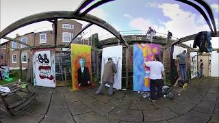 3D Paint Jam Experience at Alexanders Live in Chester, England thumbnail