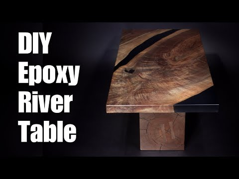 DIY Epoxy River Table (Part Two of Two) How-To Woodworking