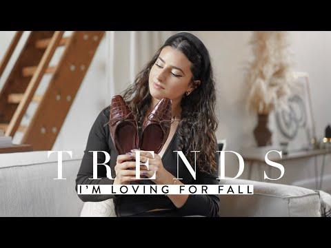 Fall 2019 Trends That I'm Loving: Wardrobe Planning