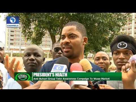 News Across Nigeria: Anti Buhari Group Take Awareness Campaign To Wuse Market