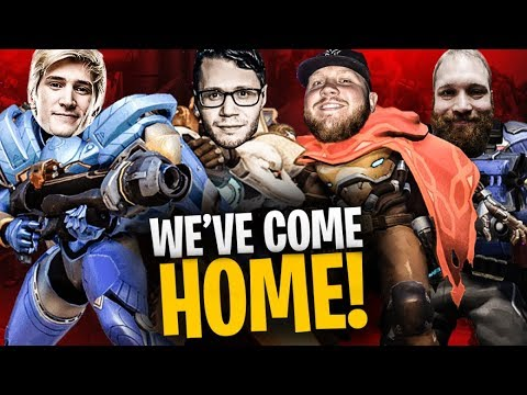 WE'RE BACK ON OVERWATCH!! REUNITED W/ XQC, EMONGG & LASSIZ!! | Overwatch Season 14 thumbnail