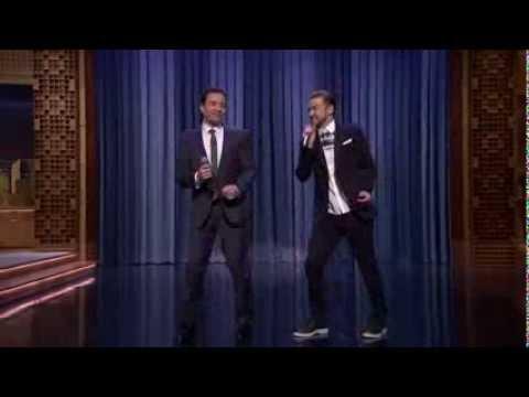 """Jimmy Fallon & Justin Timberlake """"History of Rap 5"""" (Mr. Dee Remix) [part 1]"""