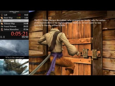 Sid Meier's Pirates! (PC) - Any% Speedrun in 21:05