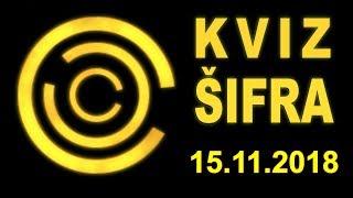 KVIZ ŠIFRA (15.11.2018)