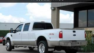 2008 Ford Super Duty F-450 DRW King Ranch Used Cars - Plano,Texas - 2014-08-03