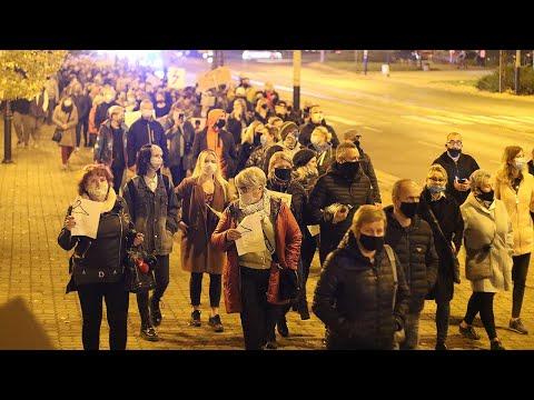 Kolejny dzień protestu w Pabianicach przeciw zakazowi aborcji #strajkkobiet