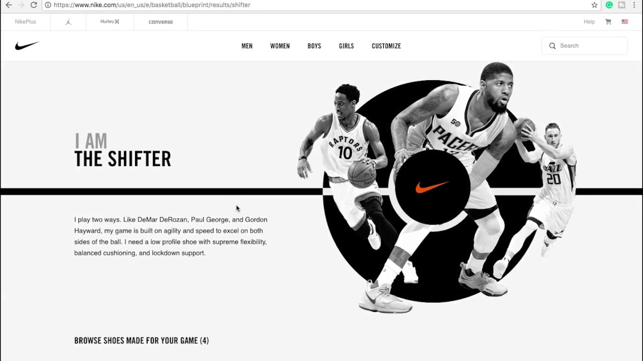 NIKE BASKETBALL BLUEPRINT: WHAT'S YOUR PLAY STYLE? MY THOUGHTS!