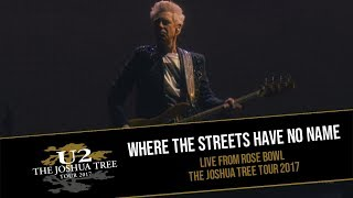 U2 plays WHERE THE STREETS HAVE NO NAME at ROSE BOWL 2017 (MULTICAM - HD)