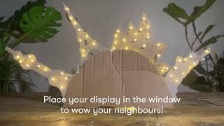 Light Up Landmarks| DIY glow lantern craft class series
