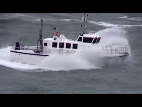 KISR Wildcat 53, Force 8 sea trials of Roches PT