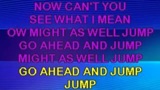 Van Halen - Jump KARAOKE