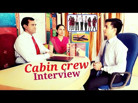Cabin Crew Interview for Men : Male Flight Attendant Interview