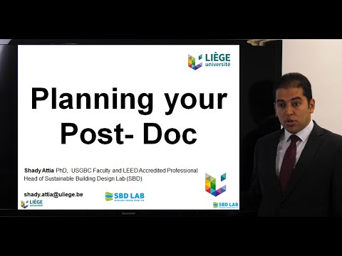 Planning Your Post-Doc