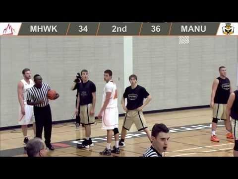 Men's Basketball - Mohawk vs Manchester University 18 10 14