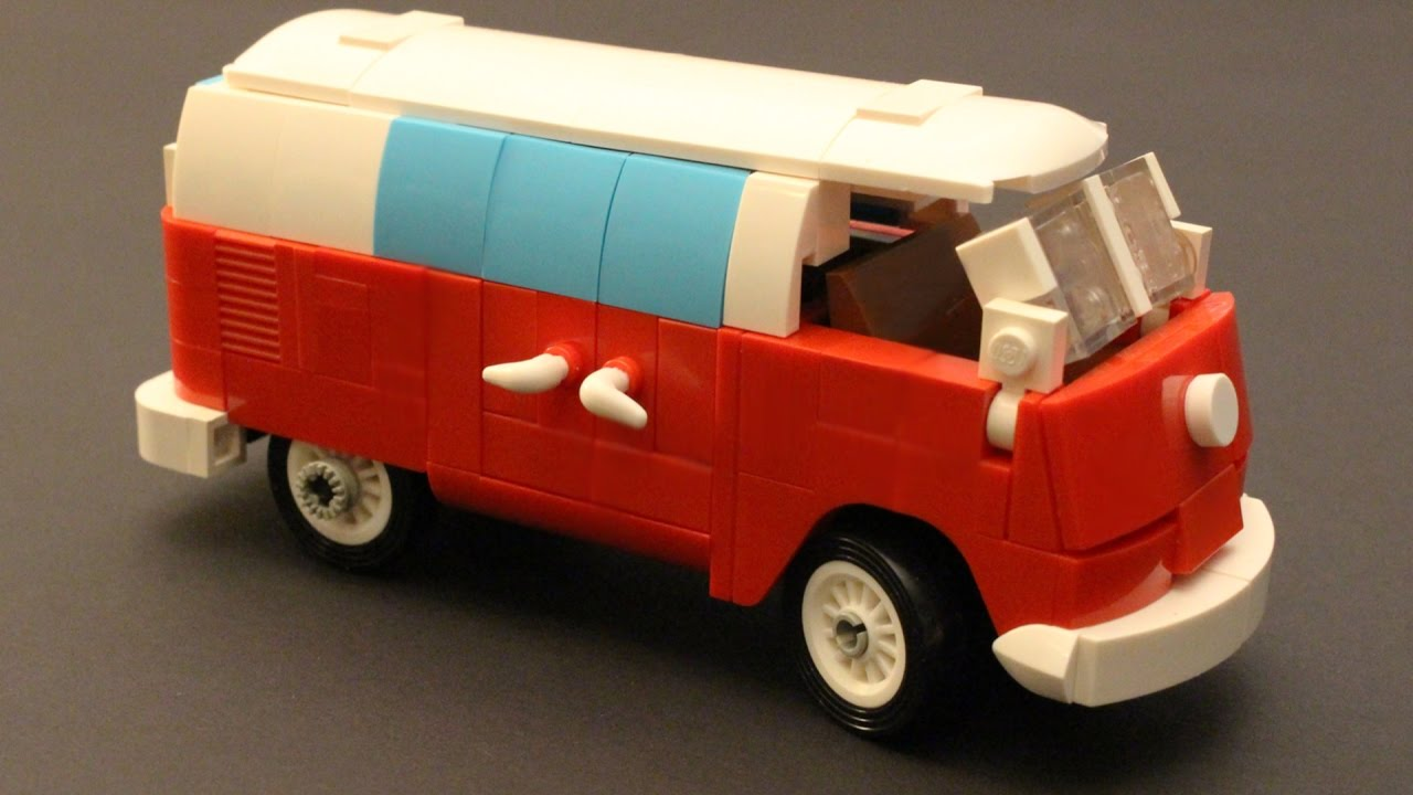how to build a volkswagen t1 camper van with lego moc. Black Bedroom Furniture Sets. Home Design Ideas