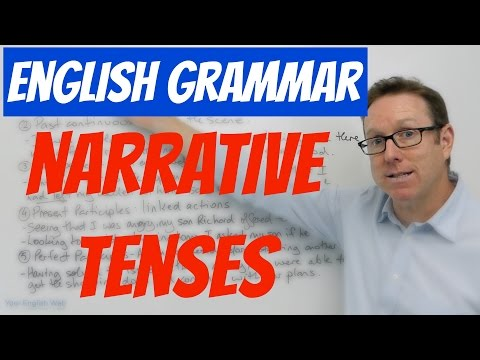 English grammar - Narrative tenses - gramática inglesa