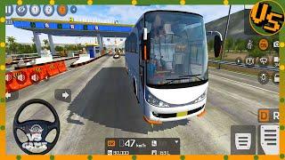 Marcopolo V2 Bus Mod Drive - Best Bus Simulator Bus Simulator Indonesia Gameplay