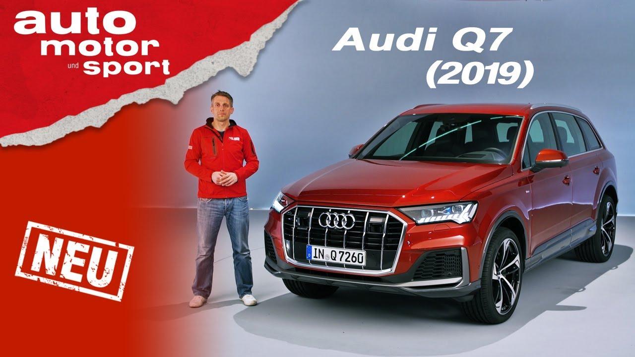 Der neue Audi Q7 (2019): Was bringt das Facelift? - Review/Sitzprobe | auto motor und sport