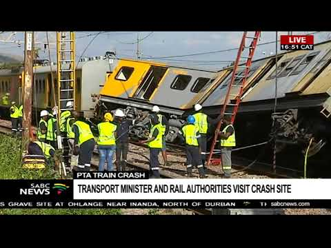 Pretoria train crash | Three dead, 300 injured
