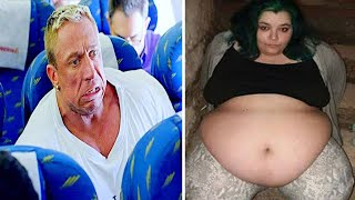 Man Mocks Woman On Plane, Doesn't Realize Who's Behind Him  He Called her a 'Smelly Fatty'