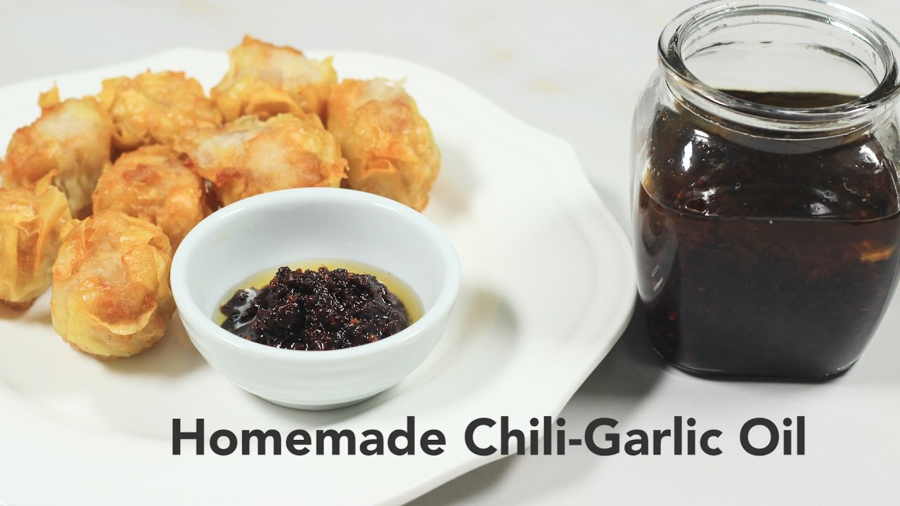 WATCH: How to Make Homemade Chili Garlic Oil