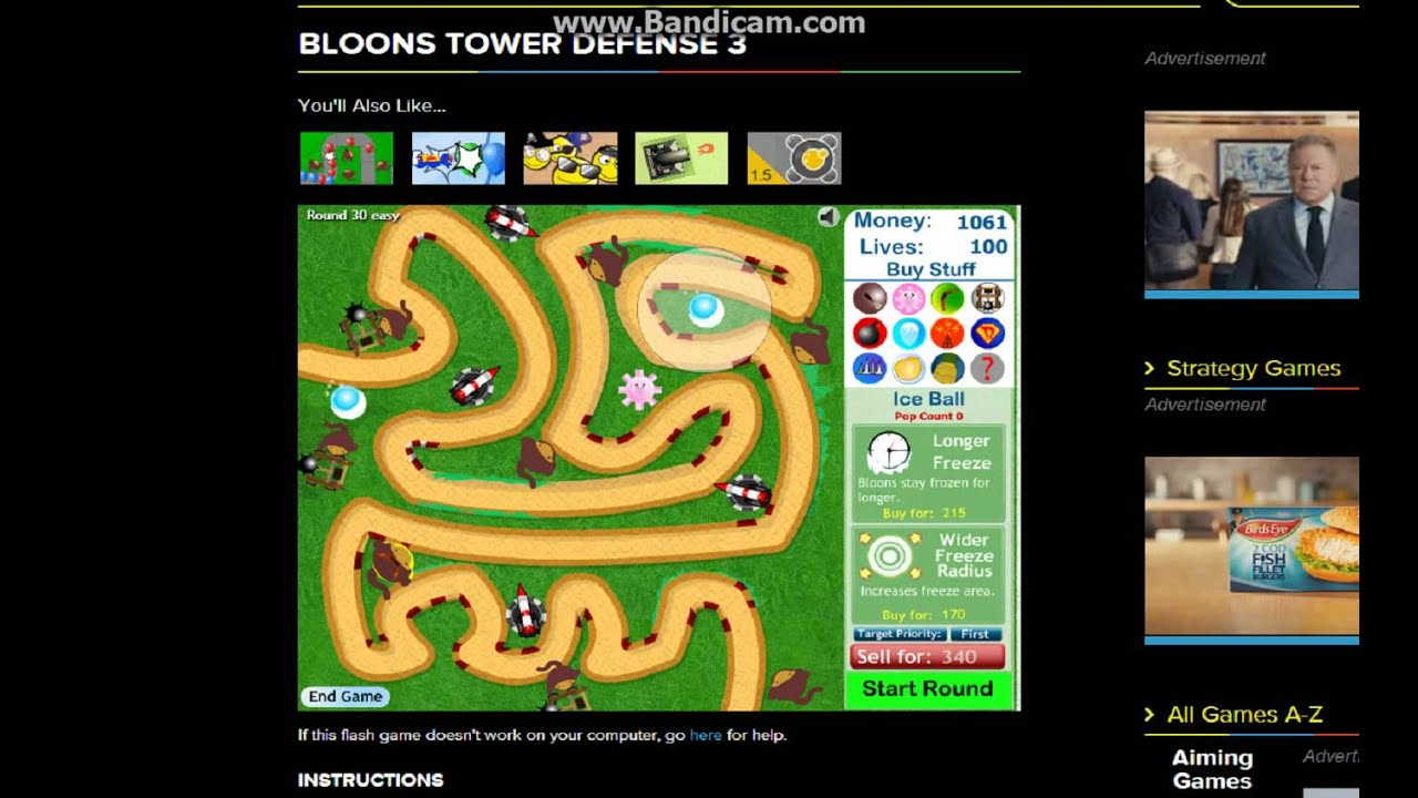 bloons tower defence 1 cool maths games | Gameswalls.org