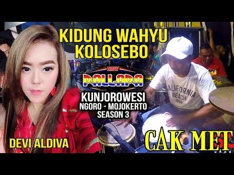KIDUNG WAHYU KOLOSEBO - DEVI ALDIVA - CAK MET NEW PALLAPA KUNJOROWESI NGORO 2018