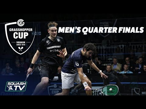 Squash: Grasshopper Cup 2018 - QF Roundup
