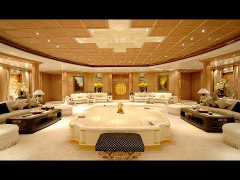 The US$ 300 Million Luxury Yacht Al Salamah - Crown Prince of Bahrain - Rare interior photos