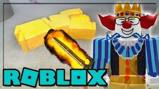 MISE À JOUR VIP! TURNING PEOPLE GOLD IN ROBLOX KNIFE CAPSULES!!!