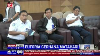 BMKG Akan Live Streaming Gerhana Matahari Total